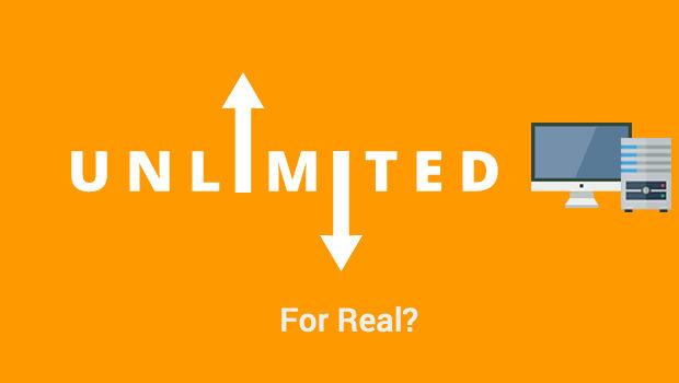 Sự thật về hosting UNLIMITED?!