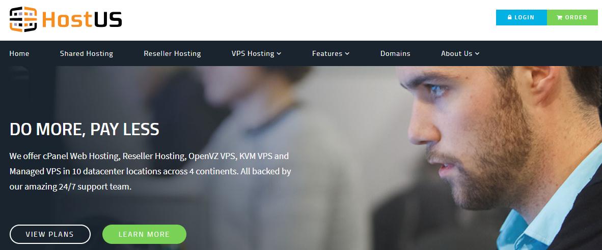 HostUS: VPS 3GB RAM chỉ với 7USD/tháng
