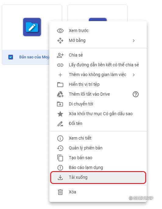 Cách download file Google Drive bị giới hạn tải 24h mới nhất năm 2021