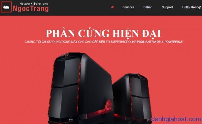 Đánh giá, nhận xét về dịch vụ VPS của Ngọc Trang Network Solutions