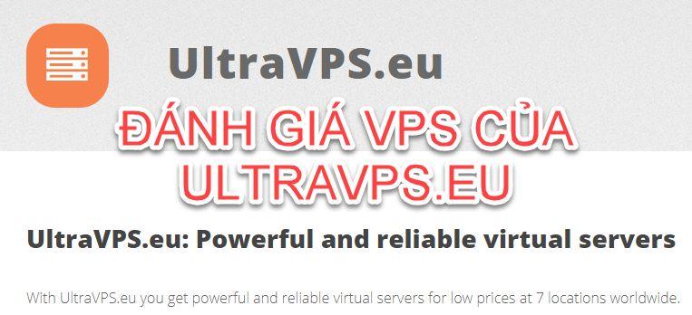 Đánh giá VPS mua của UltraVPS.eu lúc BF2020: Quá ngon mà giá rẻ