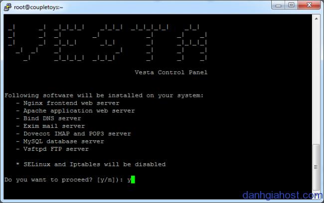 Giới thiệu và hướng dẫn cài đặt Vesta hosting control panel cho VPS