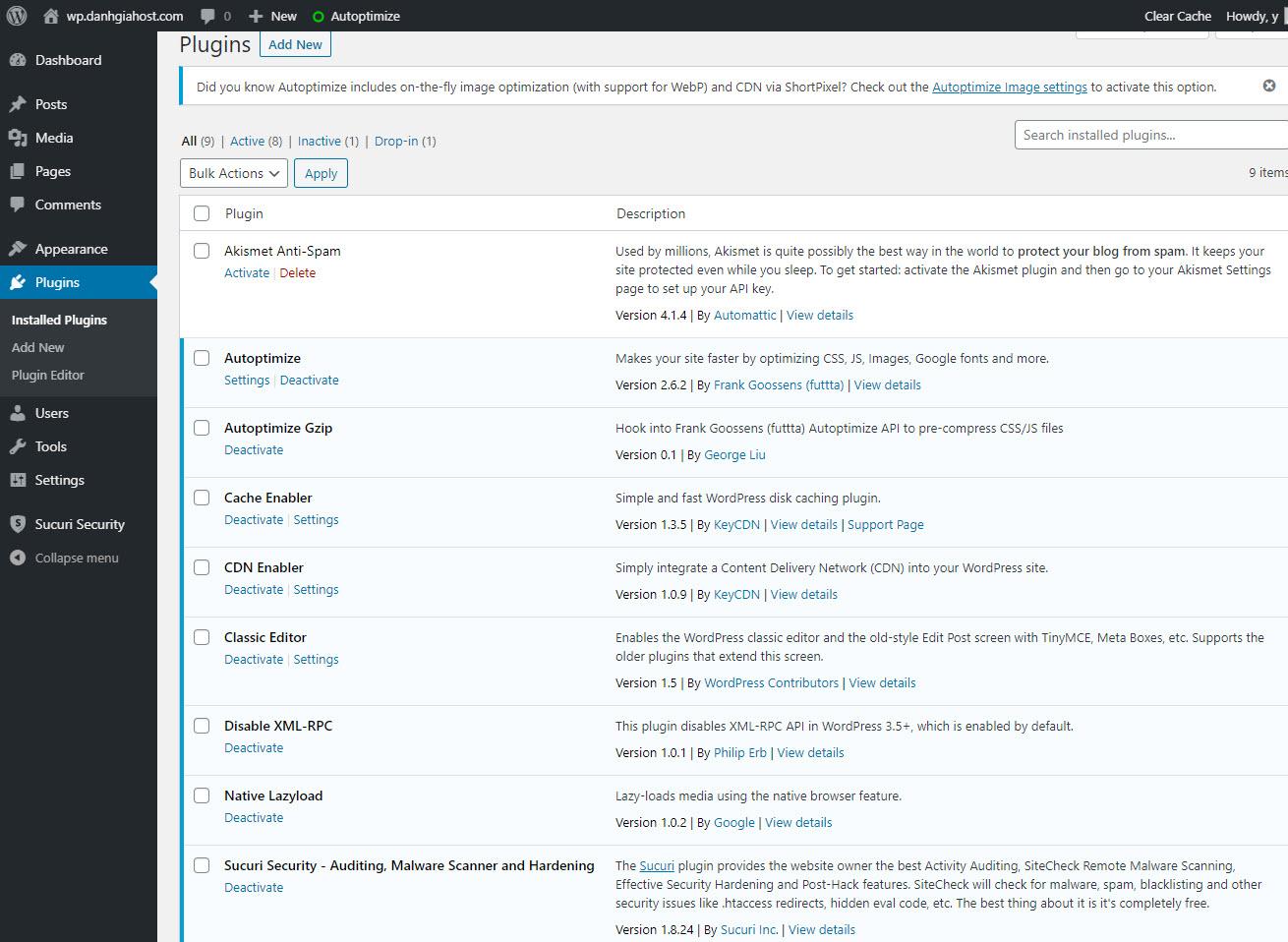 Hướng dẫn cài đặt site WordPress trên server cài Centmin Mod
