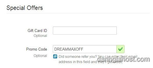 Hướng dẫn mua Dreamhost sử dụng mã giảm giá để chi phí thấp nhất