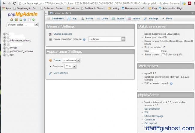 Servertut Script bài 2: Giới thiệu các công cụ mà Servertut Script cung cấp để quản lý VPS/Server